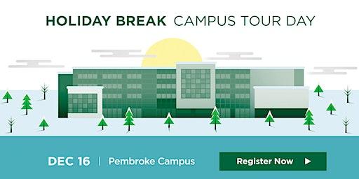 Algonquin College Pembroke Campus: 2019 Holiday Break Campus Tour