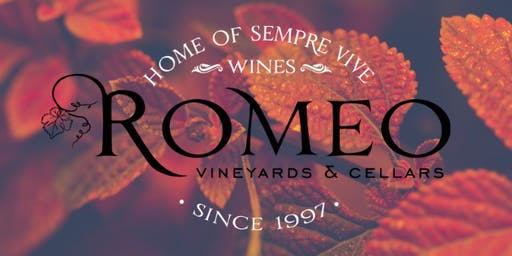 Romeo's Fall Wine and Pizza Party with the  Wine Country Animal Lovers