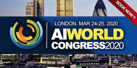 AI WORLD CONGRESS 2020 tickets