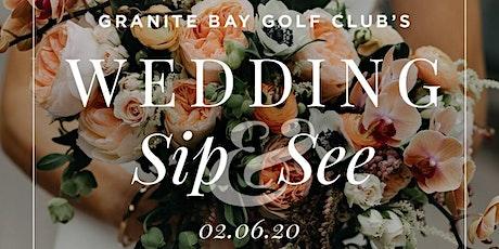 Wedding Sip & See tickets