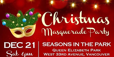 TCCBC 28th Christmas Masquerade Party tickets