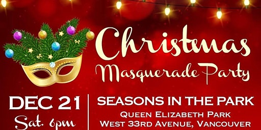 TCCBC 28th Christmas Masquerade Party