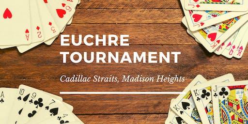 Euchre Tournament at Cadillac Straits