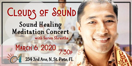 Clouds of Sound Meditation Concert with Suren Shrestha tickets