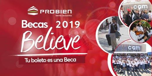 """Becas Believe: Concierto de agradecimiento """"Finale"""""""