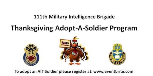 111th MI BDE Adopt a Soldier, NOV 19