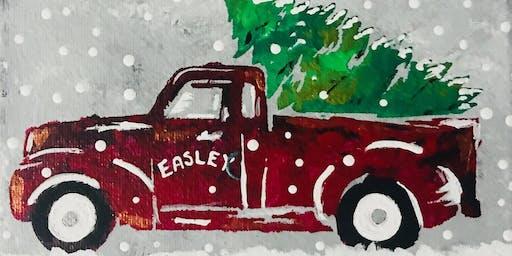 Christmas Truck Paint Night