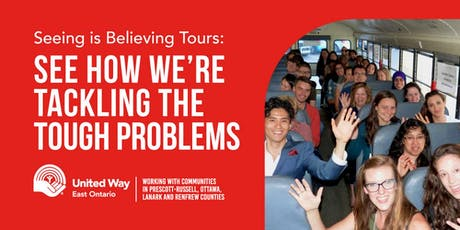 United Way East Ontario Seeing is Believing Tour December 11 tickets