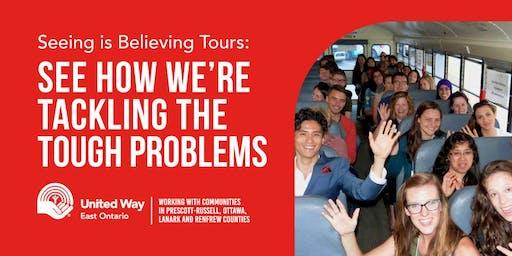 United Way East Ontario Seeing is Believing Tour December 11