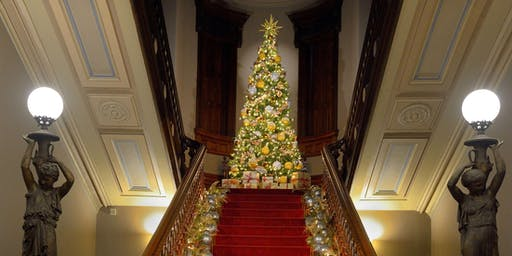 12:30 p.m. Holiday Exhibit Tour: Toys, Trains, and Magnificent Trees