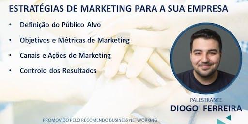 Café com Negócios e Ideias + Palestra: Estratégias de Marketing para sua Empresa