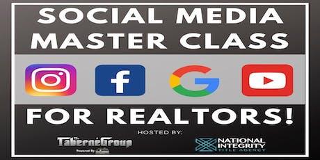 Social Media Master Class For Realtors! tickets