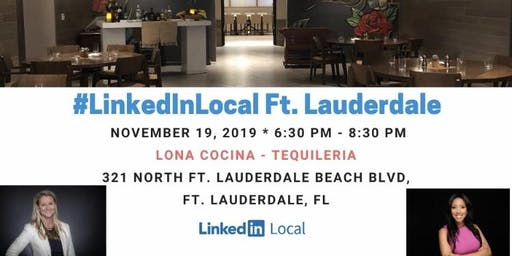LinkedIn Local Fort Lauderdale with Kelly Merbler & Evelyn Andrade