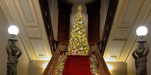1:30 p.m. Holiday Exhibit Tour: Toys, Trains, and Magnificent Trees