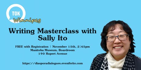 Writing Masterclass with Sally Ito tickets