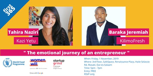 Join WFP Innovation Hub, Women Will and Startup Grind Dar at first 365!