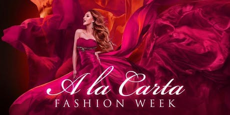 A la Carta Fashion Week entradas