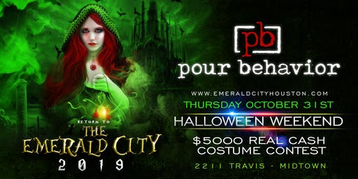 RETURN TO THE EMERALD CITY 2019 - Houston Halloween Party