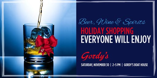 Gordy's Wine, Beer & Spirits Tasting, November 30, 2019