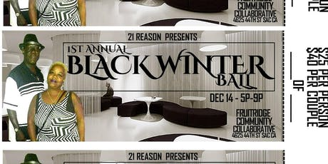 1st Annual Black Winter Happy Hour Ball tickets