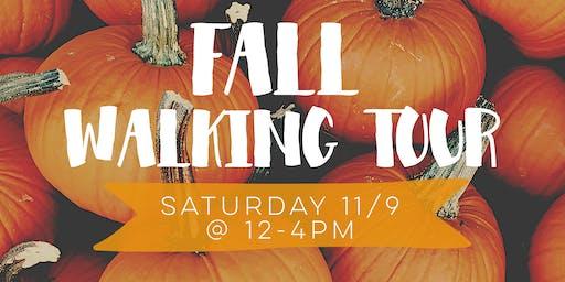 Fall Walking Tour