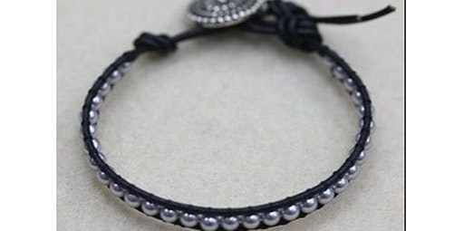Leather Wrap Bracelet (Scottsdale - Dorothy) (03-07-2020 starts at 10:30 AM)