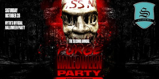 Myth's  Official Halloween Party* $1000 Costume Contest* Purge Pt 2