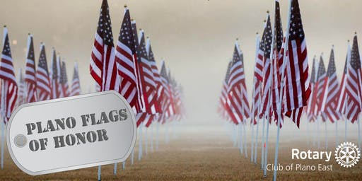 Plano Flags of Honor - Honoring Veterans and First Responders
