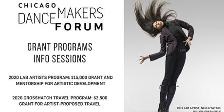 Chicago Dancemakers Grant Info Session at DanceChance! tickets
