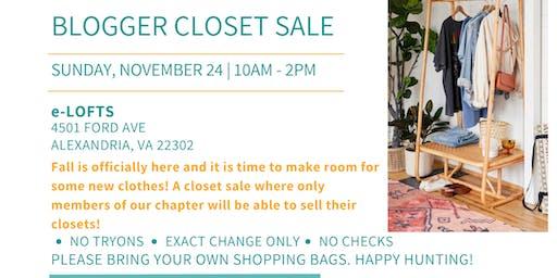DC Bloggers Closet Sale