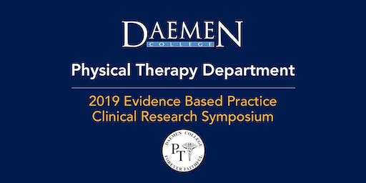 2019 Evidence Based Practice Clinical  Research  Symposium