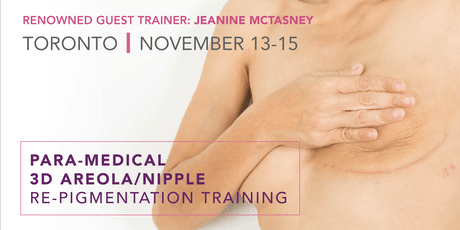 *SPECIAL* 3D Areola/Nipple Re-Pigmentation ft. Jeanine McTasney tickets