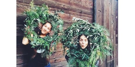 Holiday Wreath Making Party with Pollinate Farm & Garden + Happy Acre Farm (12-14-2019 starts at 3:00 PM) tickets
