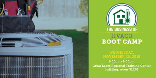 The Business of HVACR Boot Camp
