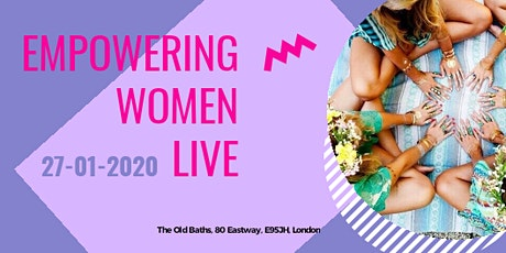 Empowering Women Live tickets