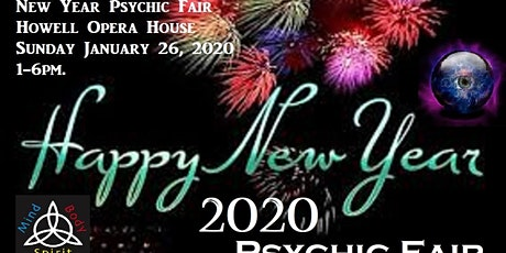 GMPF's New Year Psychic Fair tickets