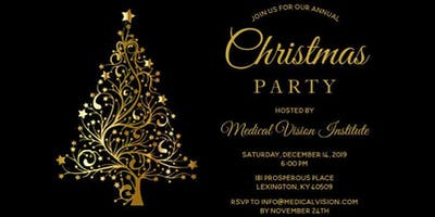 Medical Vision Institute Christmas Party