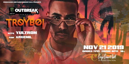 TroyBoi - Nostalgia Tour at Cargo Concert Hall