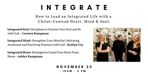 Integrate: How to Lead a Christ-Centred Life