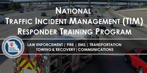 Traffic Incident Management - Marshfield, MO - Responder Training Program