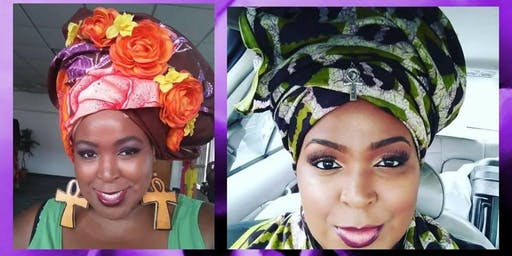 WRAPPED IN LOVE HEADWRAP DEMOSTRATION