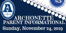 Archonette Parent Informational