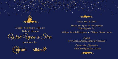 ALGSA Gala of Dreams ~ Wish Upon a Star presented by Mirum and Albireo tickets