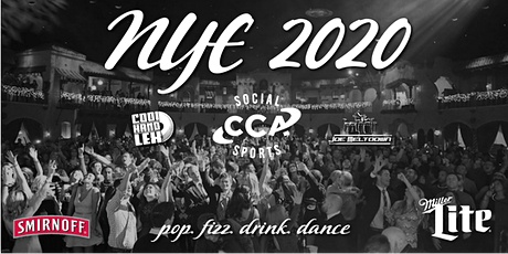 New Years Eve 2020 Presented by CCA tickets