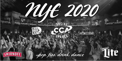 New Years Eve 2020 Presented by CCA
