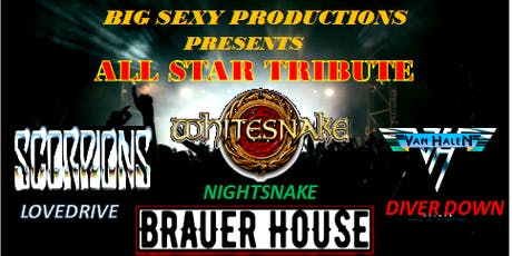 Tribute All Starz with Lovedrive, Diver down and Nightsnake at BHouse LIVE tickets
