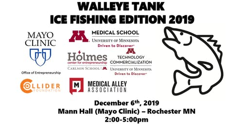 Walleye Tank Ice Fishing Edition 2019
