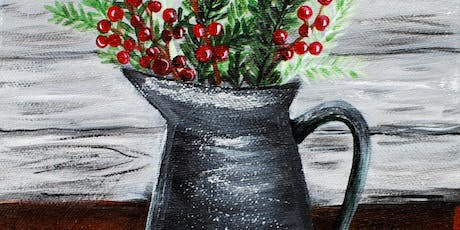 Pine Branches-Canvas Paint Night tickets