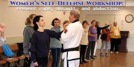 Women's Self-Defense Class - (Rogers Memorial Library, Southampton) tickets