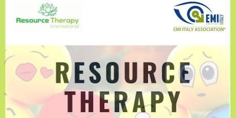 Training Resource Therapy  Ancona (Italy) biglietti